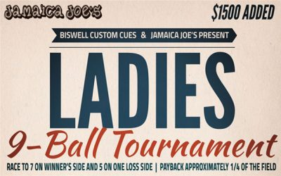 Ladies 9-Ball Tournament – Midwest City, OK